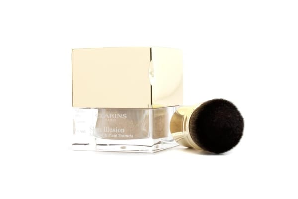 Clarins Skin Illusion Mineral & Plant Extracts Loose Powder Foundation (With Brush) - # 107 Beige (13g/0.4oz)
