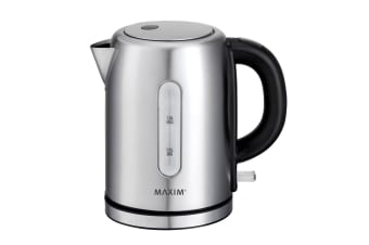 Maxim Kitchen Pro 1L Stainless Steel Kettle