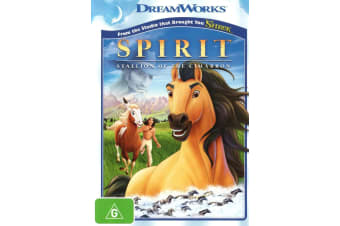 Spirit Stallion of the Cimarron DVD Region 4