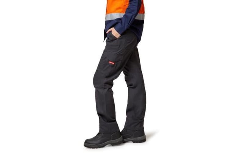 Hard Yakka Vented Cargo Pants (Charcoal, Size 10)