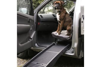 Portable Folding Car Dog Pet Ramp Step Ladder Travel Car Truck SUV