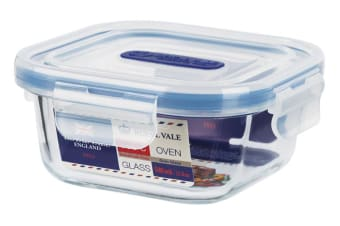 Royal Vale Glass Square Container 540ml