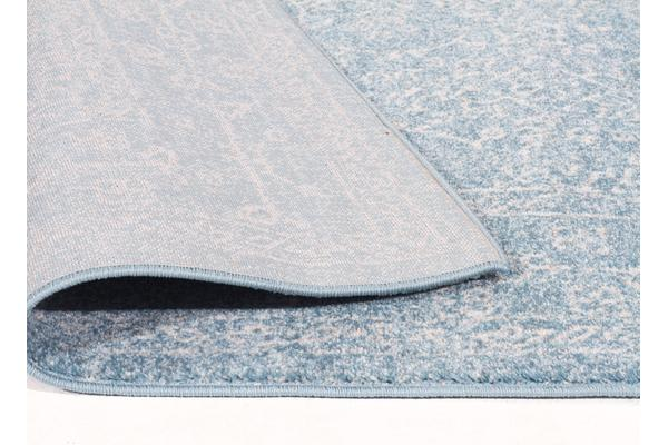 Depth Blue Transitional Rug 500x80cm