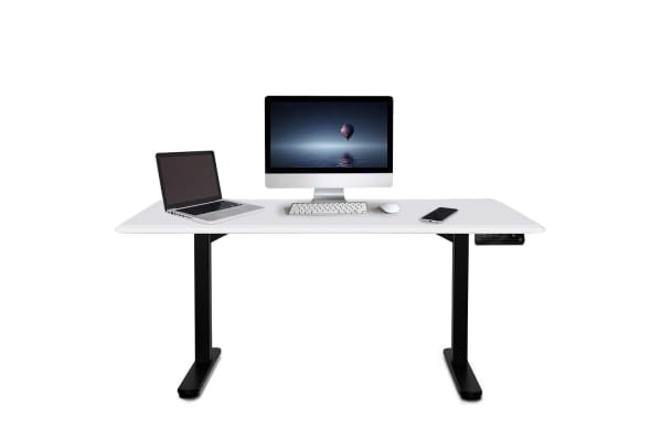 150cm Height Adjustable Standing Desk Electric Motorised Sit Stand Up Office WT