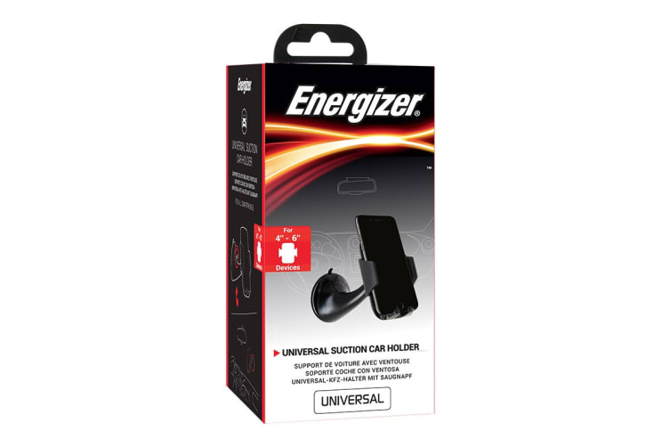 Energizer Car Suction Phone Holder