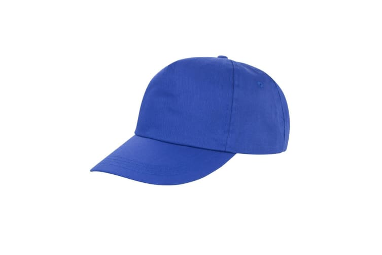 Result Unisex Core Houston 5 Panel Printers Baseball Cap (Pack of 2) (Royal) (One Size)