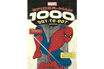 Marvel's Spider-Man 1000 Dot-to-Dot Book - Twenty Comic Characters to Complete Yourself