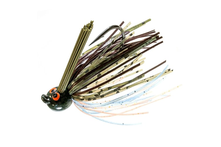 ZMan Lures Crosseyez Power Finesse Jigs 1.4oz - Pond Scum
