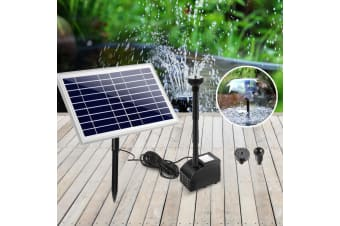60W Solar Powered Water Pond Pump Fountain Outdoor Submersible