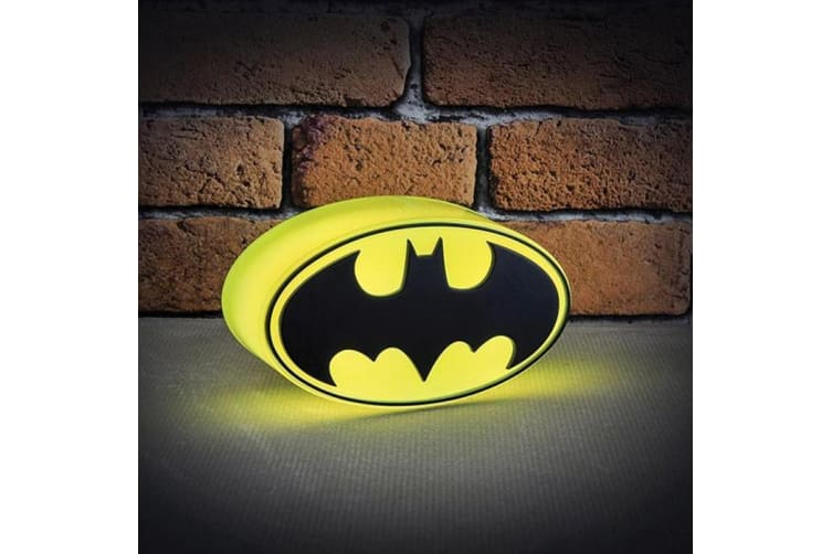 Mini Batman 3D Logo Light