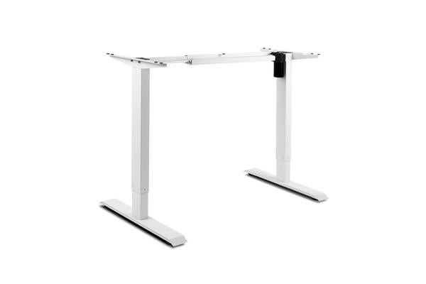 Motorised Height Adjustable Standing Desk Frame (White)