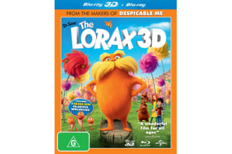 The Lorax 3D Edition Blu-ray Region B