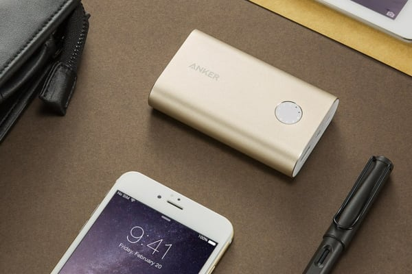 Anker PowerCore+ 10050mAh Power Bank A1311HB1 (Gold)