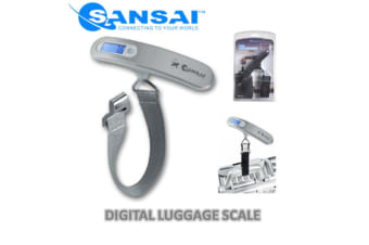 Sansai Digital Luggage Scale Data Lock function for greater weighing accuracy