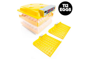 Digital Egg Incubator - 112 Eggs