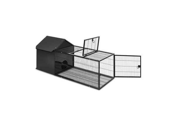Large Hutch with Run