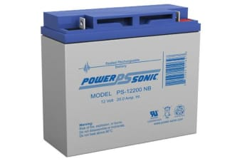 Power Sonic 12V 22Amp Sla Battery