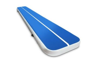 5 x 1M Inflatable Air Track Mat (Blue)