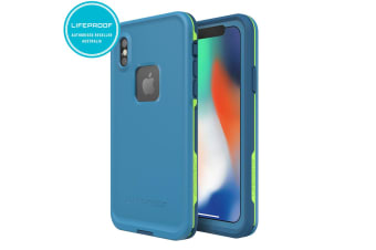 Lifeproof Fre Blue/Green Waterproof Case for iPhone X