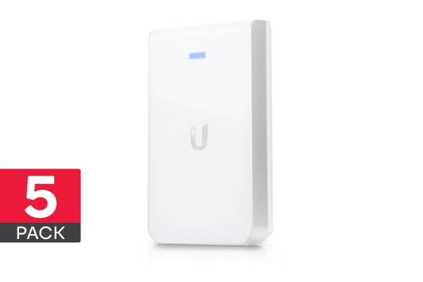 5-Pack Ubiquiti UniFi 802.11AC In Wall Access Point (UAP-AC-IW-5)