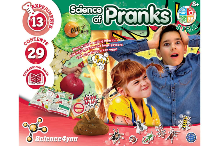 Science4you Science of Pranks Kit