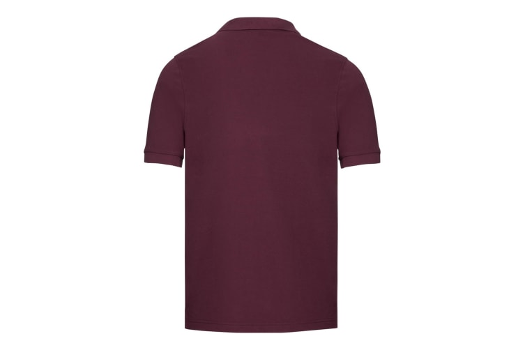 Russell Mens Tailored Stretch Pique Polo Shirt (Burgundy) (3XL)