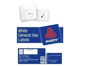 AVERY GENERAL USE  L7157 A4 33 LABELS/SHEET 100SH/PK