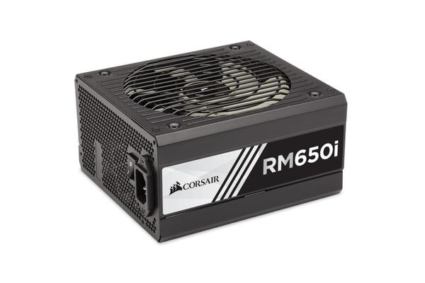 Corsair 650WRMi 80+ Gold Fully Modular w/Corsair Link 135mm FAN ATX PSU 10 Years Warranty