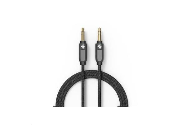 Swiss Alloy Series Auxiliary Cable - 4ft - Black