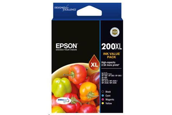 Epson HIGH CAP DURABRITE ULTRA 4 INK VALUE PK