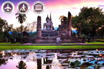 THAILAND: 13 Day Ancient Siam Tour Including Flights