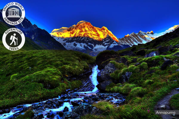 NEPAL: 13 Day Annapurna Base Camp Trek for Two