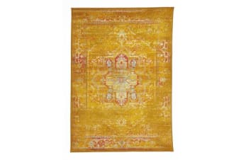 Overdyed Classic Style Rug Gold 230x160cm