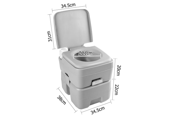 Weisshorn 20L Portable Camping Toilet
