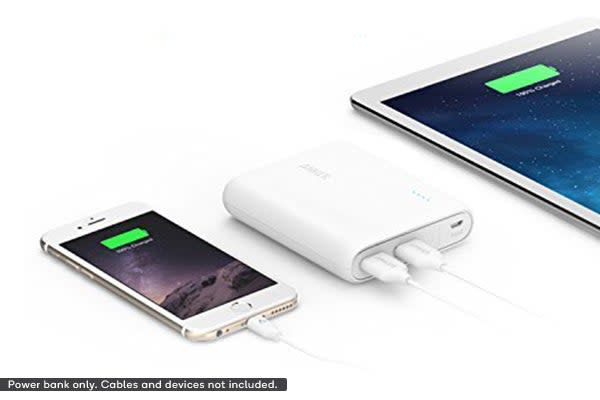 Anker PowerCore 10400mAh Power Bank A1214H21 (White)