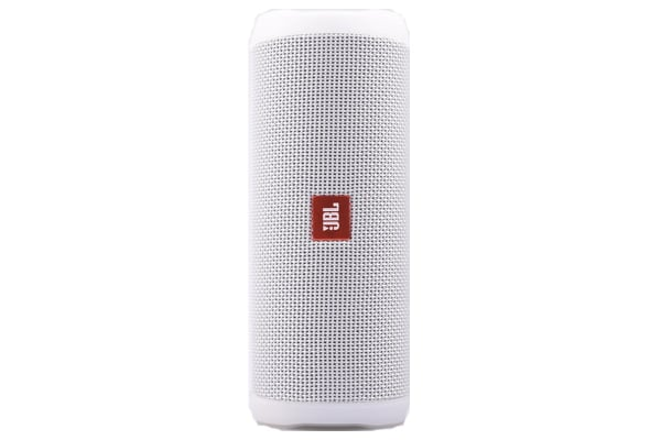 JBL Flip 4 Waterproof Bluetooth Speaker (White)