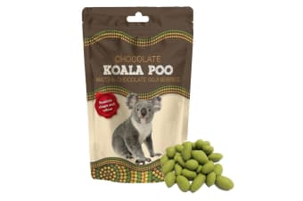 Koala Poo Matcha White Chocolate Covered Goji Berries