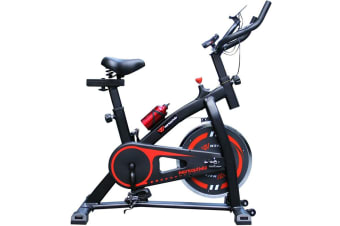 Workoutwiz Spin Bike Exercise Flywheel Fitness Home Gym Phone Holder