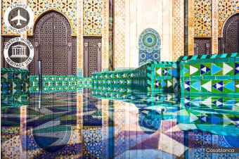 MOROCCO: 13 Day Kaleidoscope of Morocco Tour Including Flights for Two