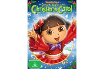 Dora the Explorer Doras Christmas Carol Adventure DVD Region 4