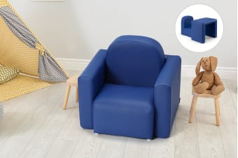 Ovela Kids Transformer Chair Table (Navy)