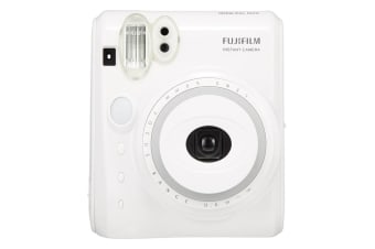 Fujifilm Instax Mini 50S Instant Camera (White)