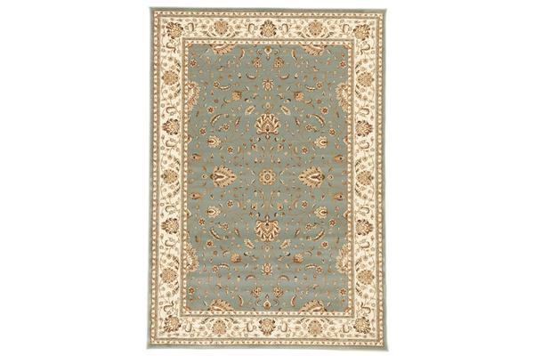 Stunning Formal Classic Design Rug Blue 170x120cm