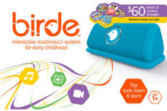 Blue Birde WiFi Interactive media player for Audio books and Video