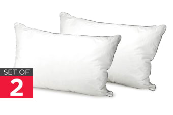 Royal Comfort Fossflake Pillows (Twin Pack)