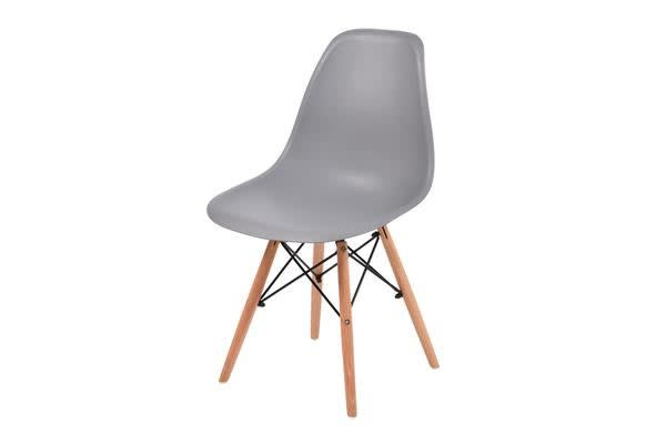4 x retro replica eames dsw plastic dining office cafe for Eames plastic chair replica
