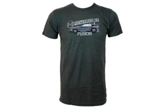 Back to the Future Powered by Fusion Male T-Shirt