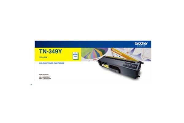 Brother TN349Y 6000 pages Yellow Toner
