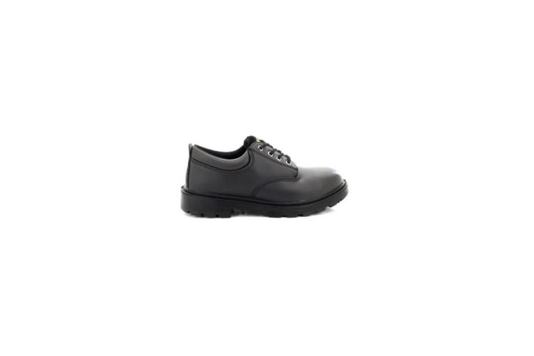 Grafters Mens Contractor 4 Eye Safety Shoes (Black) (12 UK)