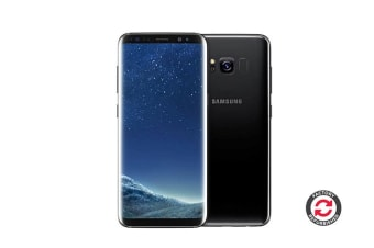 Samsung Galaxy S8 Refurbished (64GB, Midnight Black) - A Grade